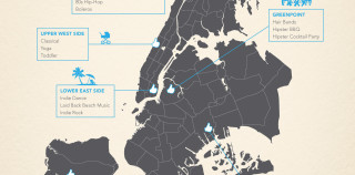 Most Popular Pandora Stations in New York City